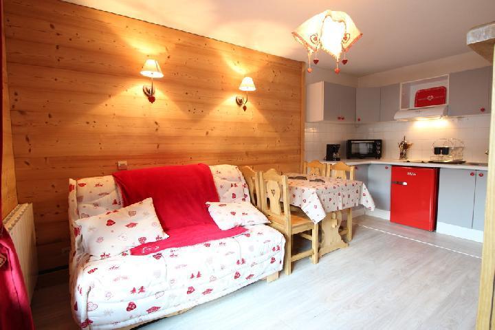 Location au ski Appartement 2 pièces 4 personnes (202) - Residence Cintra - Les Carroz - Canapé-lit