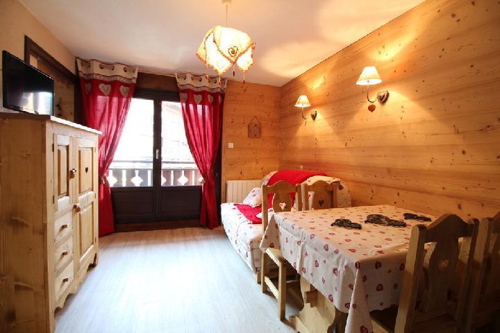 Location au ski Appartement 2 pièces 4 personnes (202) - Residence Cintra - Les Carroz - Coin repas