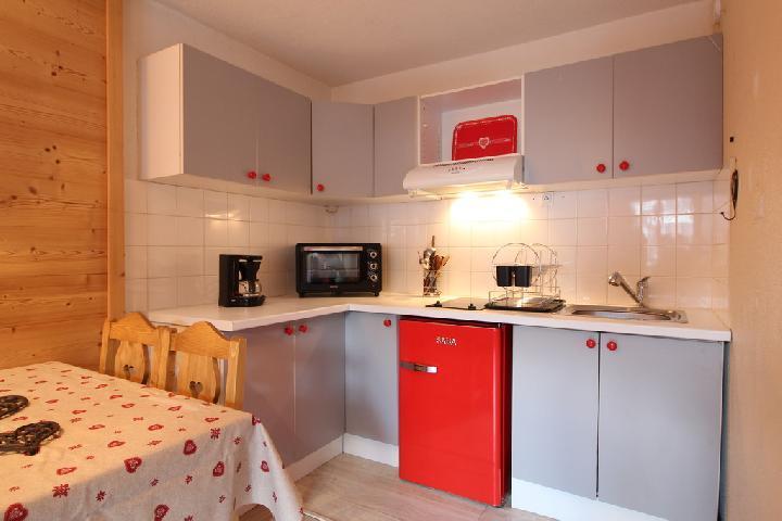 Location au ski Appartement 2 pièces 4 personnes (202) - Residence Cintra - Les Carroz - Kitchenette