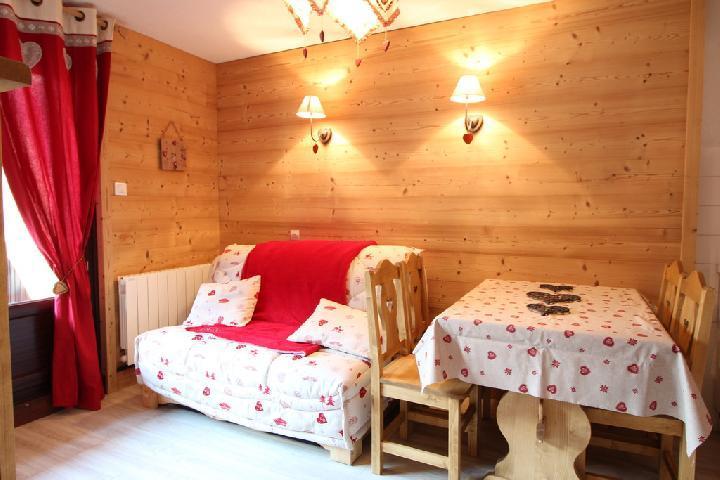 Location au ski Appartement 2 pièces 4 personnes (202) - Residence Cintra - Les Carroz - Séjour