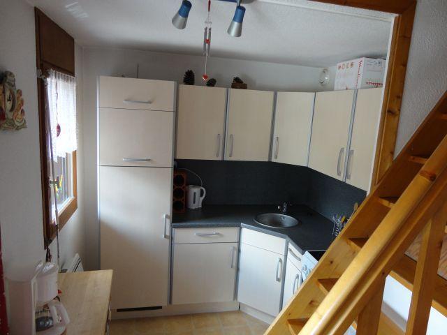 Location au ski Appartement 2 pièces mezzanine 6 personnes (205) - Residence Cintra - Les Carroz - Cuisine