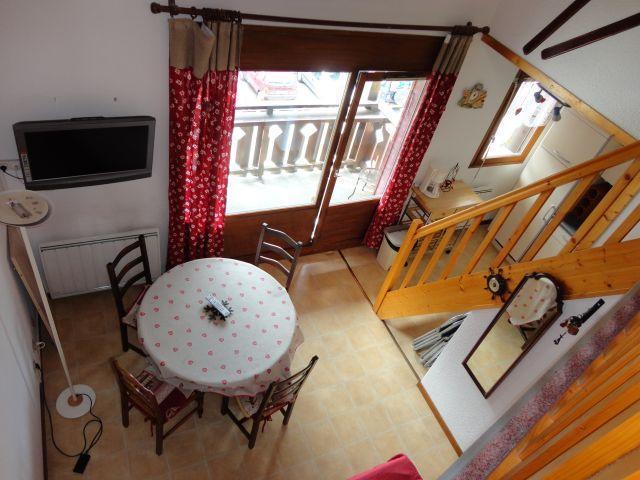 Location au ski Appartement 2 pièces mezzanine 6 personnes (205) - Residence Cintra - Les Carroz - Séjour