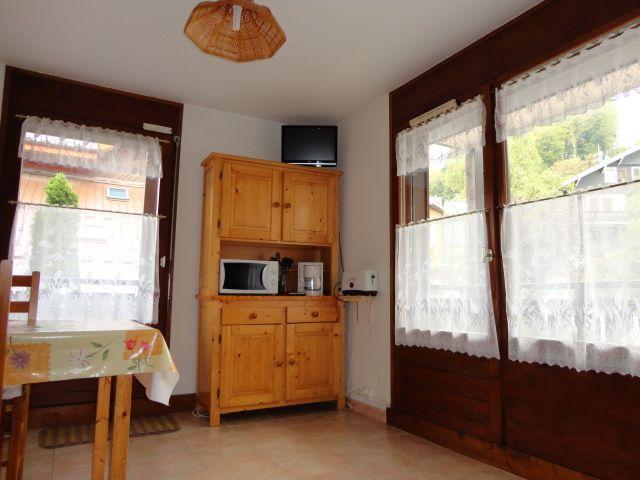 Location au ski Studio coin montagne 5 personnes (207) - Residence Cintra - Les Carroz - Banquette-lit