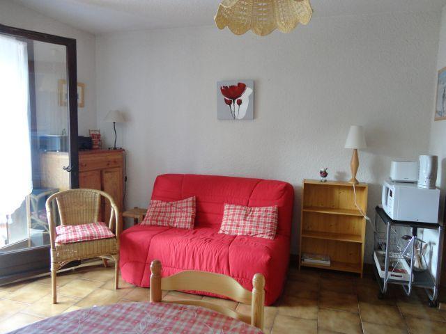 Location au ski Studio 4 personnes (02) - Residence Front De Neige - Les Carroz