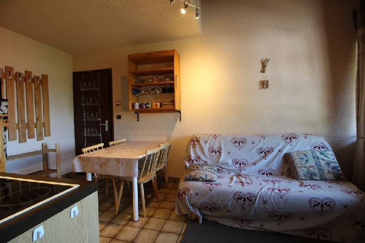 Location au ski Studio coin montagne 5 personnes (21B) - Residence Le Caribou - Les Carroz - Extérieur hiver