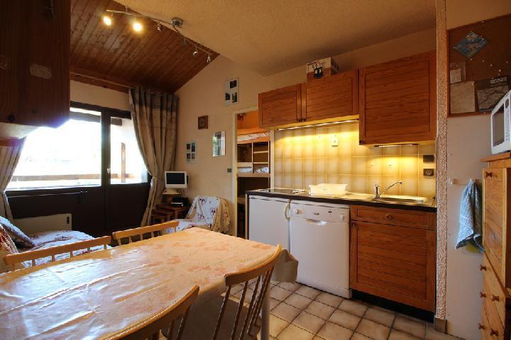 Location au ski Studio coin montagne 5 personnes (21B) - Residence Le Caribou - Les Carroz - Salle de bains