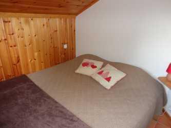 Location au ski Appartement 3 pièces cabine 6 personnes (15) - Residence Le Panda - Les Carroz - Chambre mansardée