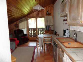 Location au ski Appartement 3 pièces cabine 6 personnes (15) - Residence Le Panda - Les Carroz - Cuisine