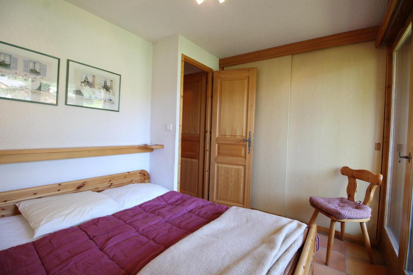 Location au ski Appartement duplex 3 pièces 6 personnes (13) - Residence Le Panda - Les Carroz - Chambre