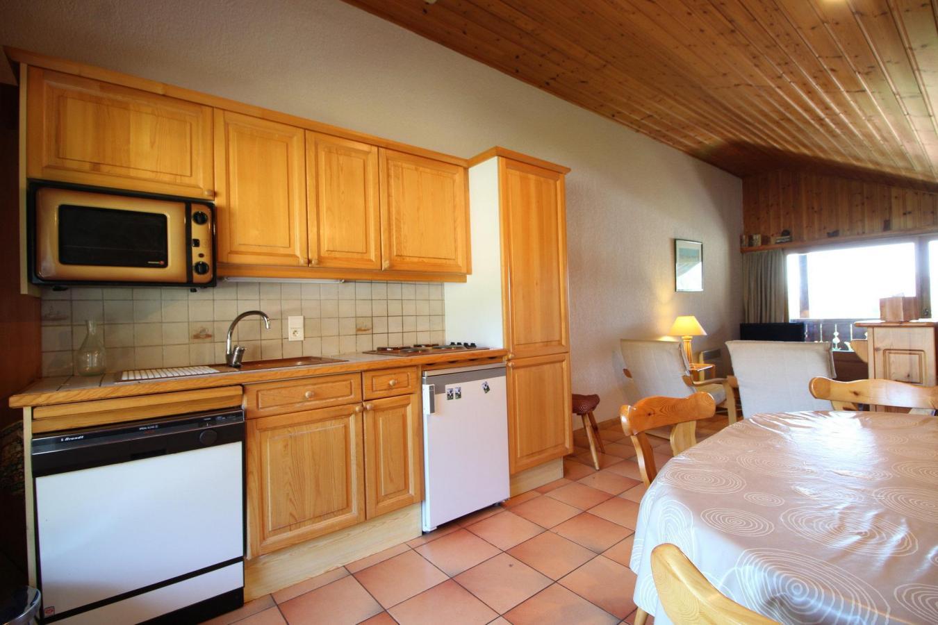Location au ski Appartement duplex 3 pièces 6 personnes (13) - Residence Le Panda - Les Carroz - Cuisine