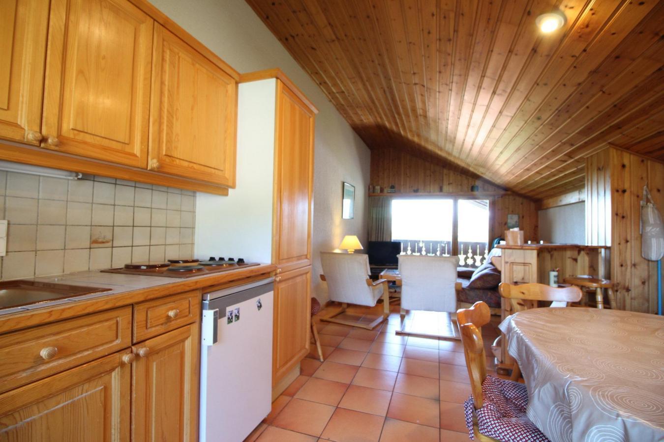 Location au ski Appartement duplex 3 pièces 6 personnes (13) - Residence Le Panda - Les Carroz - Plaques électriques