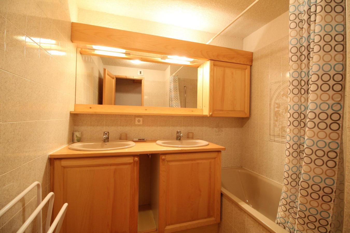 Location au ski Appartement duplex 3 pièces 6 personnes (13) - Residence Le Panda - Les Carroz - Salle de bains