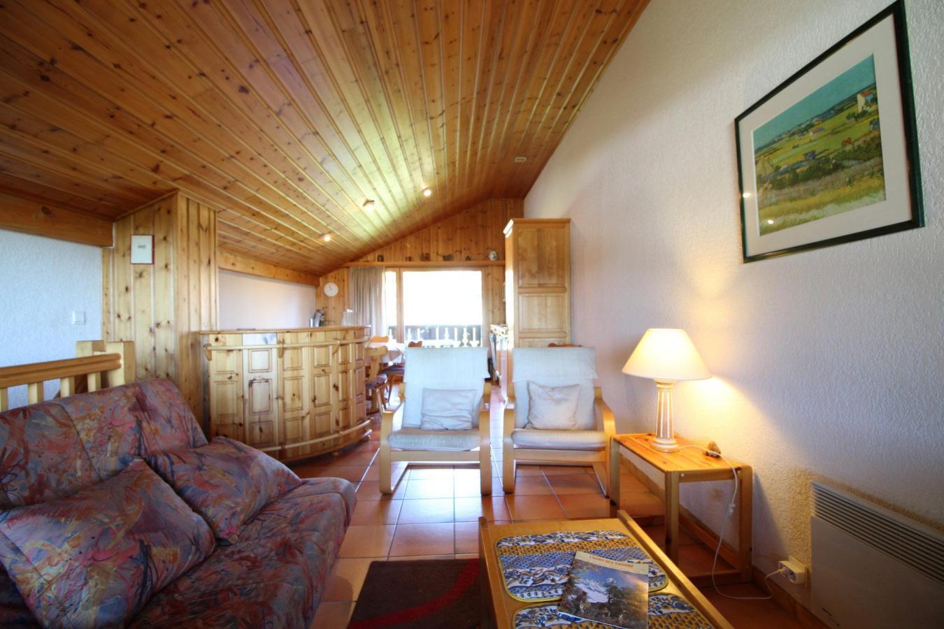 Location au ski Appartement duplex 3 pièces 6 personnes (13) - Residence Le Panda - Les Carroz - Séjour