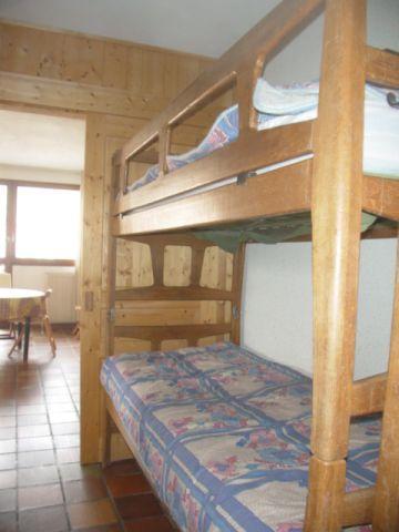 Location au ski Studio 5 personnes (02) - Residence Les Lothiers - Les Carroz - Lits superposés