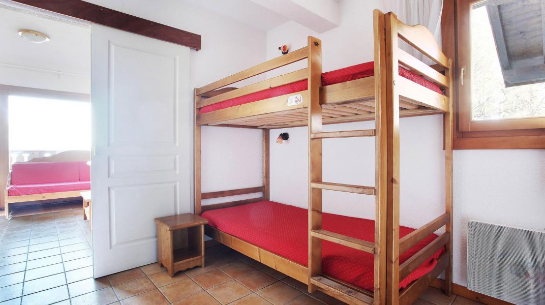 Аренда на лыжном курорте Résidence le Front de Neige - Les Carroz - Двухъярусные кровати
