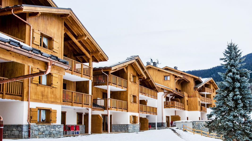 Rent in ski resort Résidence Léana - Les Carroz - Winter outside