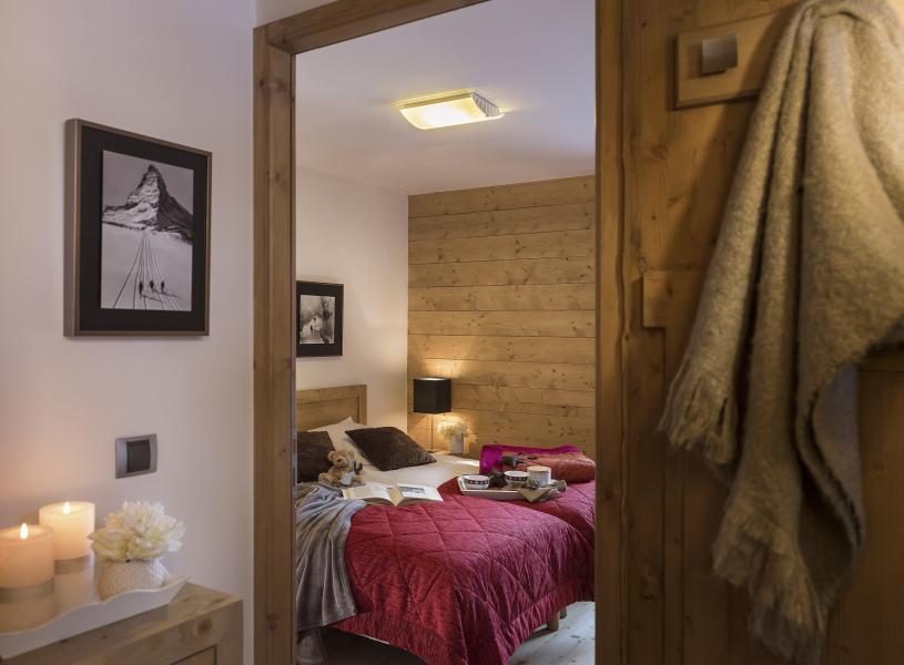 Rent in ski resort Résidence Léana - Les Carroz - Bedroom