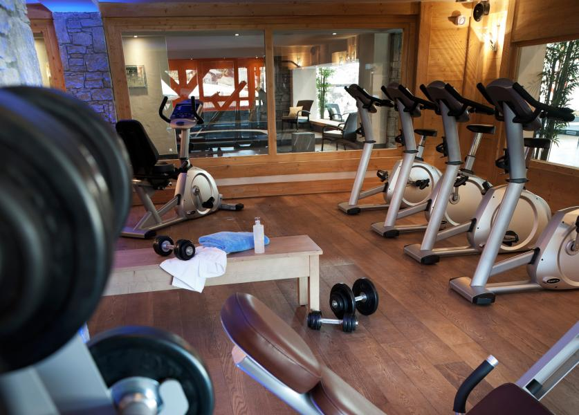 Location au ski Residence Les Chalets De Jouvence - Les Carroz - Espace fitness