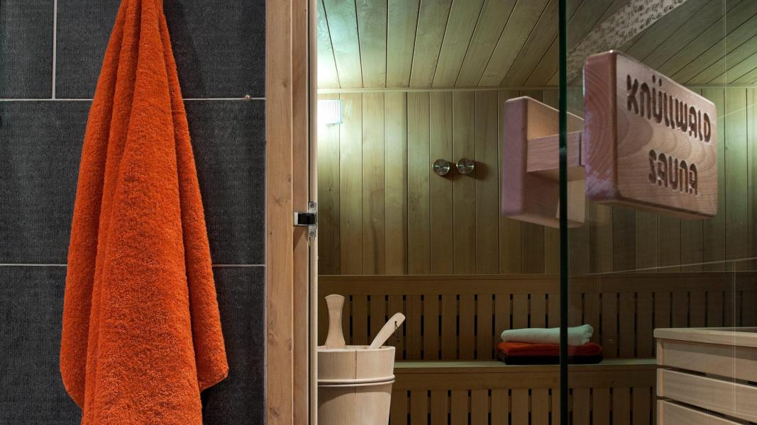 Rent in ski resort Résidence les Chalets de Jouvence - Les Carroz - Sauna