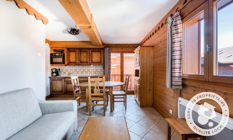 Аренда на лыжном курорте Апартаменты 3 комнат 5 чел. (Sélection -2) - Résidence les Fermes du Soleil - Maeva Home - Les Carroz - зимой под открытым небом