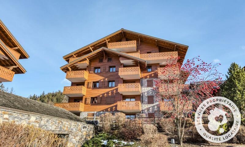 Аренда на лыжном курорте Апартаменты 3 комнат 6 чел. (Sélection -1) - Résidence les Fermes du Soleil - Maeva Home - Les Carroz - зимой под открытым небом