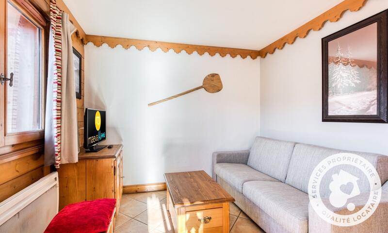 Аренда на лыжном курорте Апартаменты 3 комнат 6 чел. (Sélection ) - Résidence les Fermes du Soleil - Maeva Home - Les Carroz - зимой под открытым небом