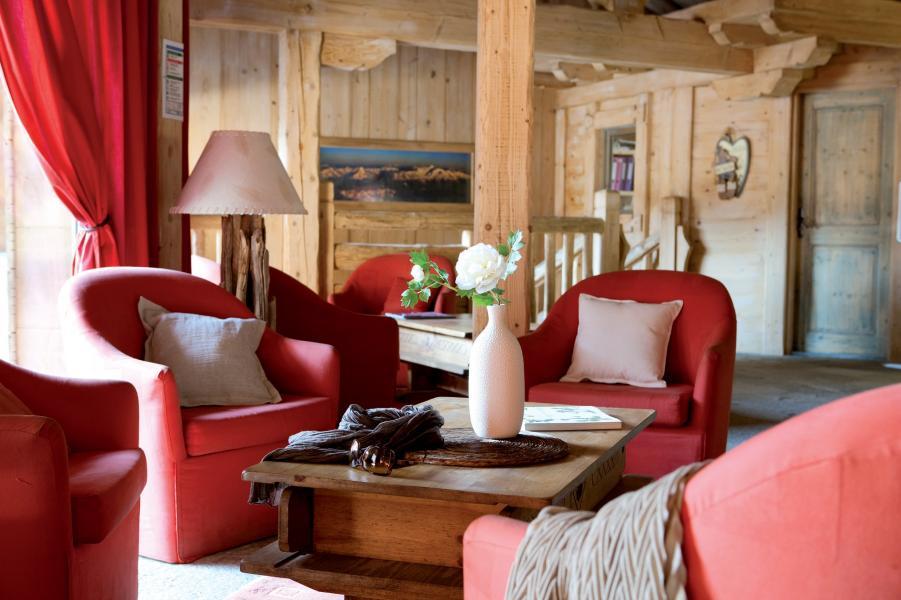 Alquiler al esquí Résidence P&V Premium les Fermes du Soleil - Les Carroz - Recepción