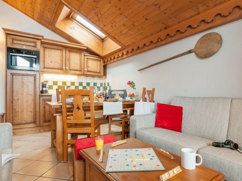 Аренда на лыжном курорте Апартаменты 3 комнат 6-7 чел. (Espace ) - Résidence P&V Premium les Fermes du Soleil - Les Carroz