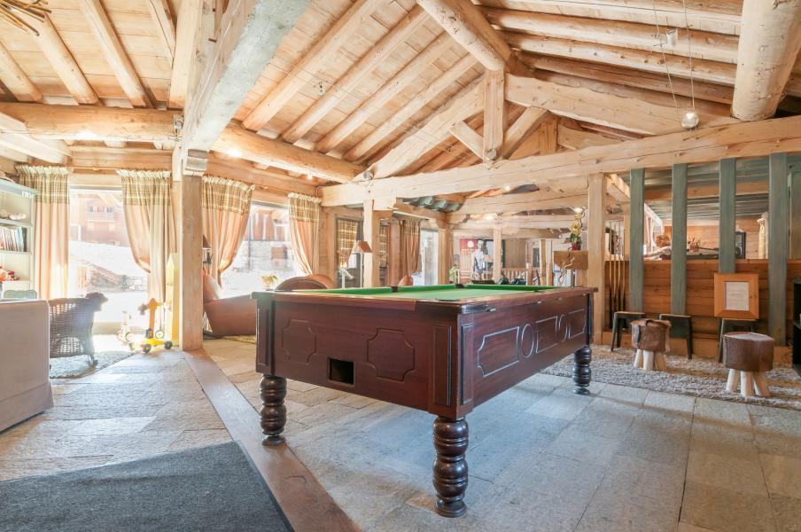 Location au ski Résidence P&V Premium les Fermes du Soleil - Les Carroz - Billard