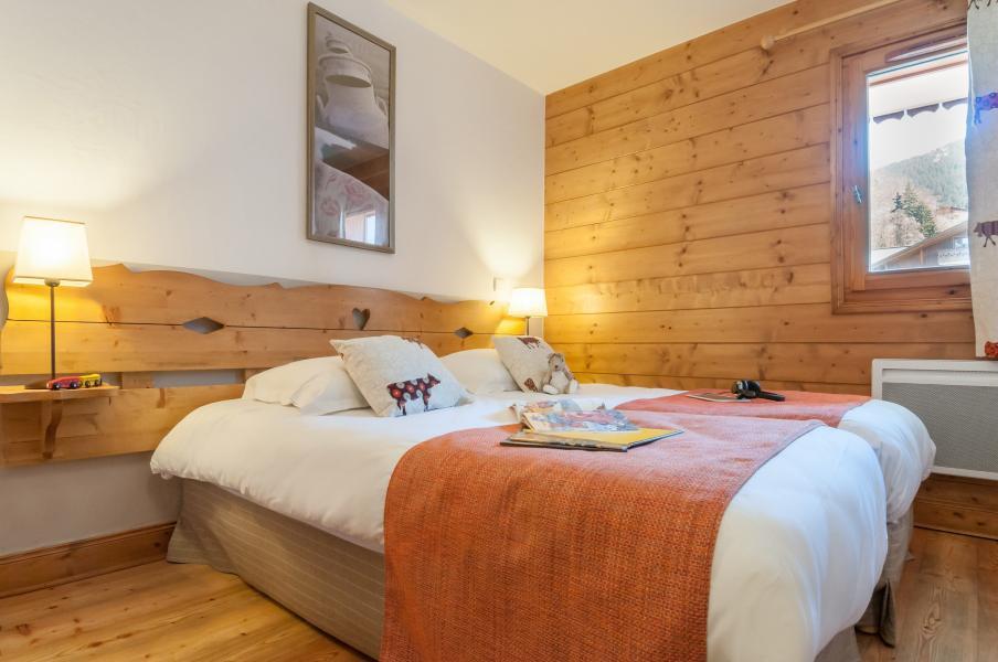 Location au ski Résidence P&V Premium les Fermes du Soleil - Les Carroz - Chambre