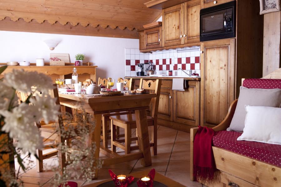 Location au ski Résidence P&V Premium les Fermes du Soleil - Les Carroz - Cuisine