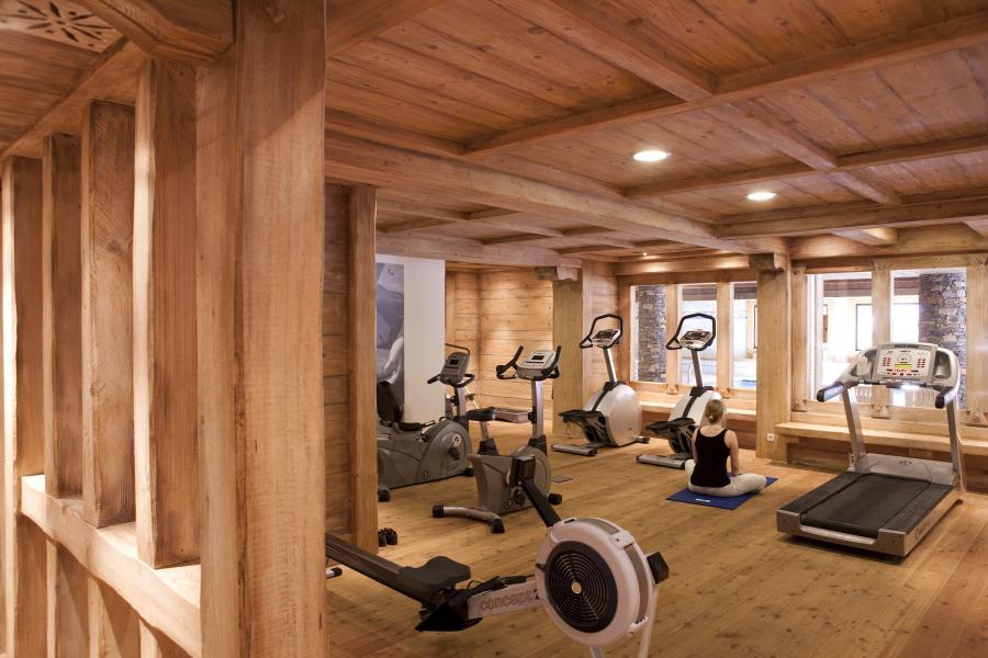 Location au ski Résidence P&V Premium les Fermes du Soleil - Les Carroz - Espace fitness