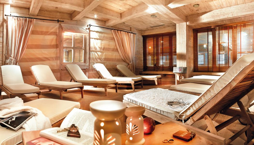 Location au ski Résidence P&V Premium les Fermes du Soleil - Les Carroz - Relaxation