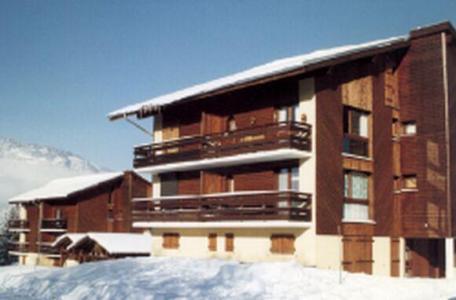 Location au ski Studio 4 personnes (205) - Residence Aiguilles Blanches - Les Carroz - Extérieur hiver