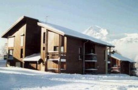 Location au ski Studio 4 personnes (501) - Residence Aiguilles Blanches - Les Carroz - Extérieur hiver
