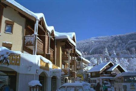 Location au ski Appartement 2 pièces mezzanine 6 personnes (205) - Residence Cintra - Les Carroz - Extérieur hiver