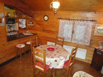 Location au ski Appartement 3 pièces 4 personnes (31) - Residence Laydevants - Les Carroz - Coin repas