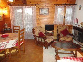 Location au ski Appartement 3 pièces 4 personnes (31) - Residence Laydevants - Les Carroz - Séjour