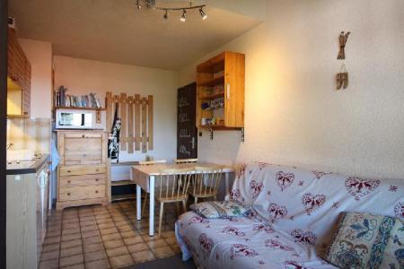 Location au ski Studio coin montagne 5 personnes (21B) - Residence Le Caribou - Les Carroz - Lits superposés