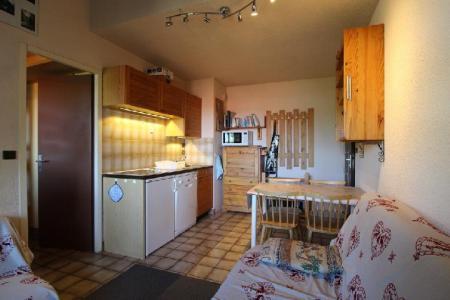 Location au ski Studio coin montagne 5 personnes (21B) - Residence Le Caribou - Les Carroz - Séjour