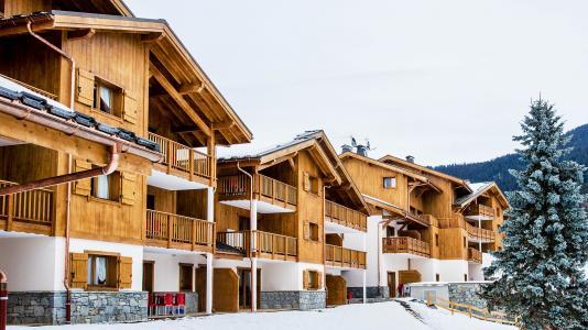 Location au ski Résidence Léana - Les Carroz - Extérieur hiver