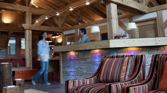 Alquiler al esquí Résidence les Chalets de Jouvence - Les Carroz - Recepción