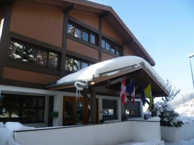 Location Les Carroz : Résidence les Flocons Verts hiver