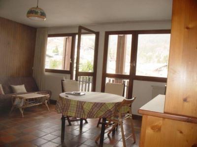 Location au ski Studio 5 personnes (02) - Residence Les Lothiers - Les Carroz - Coin repas