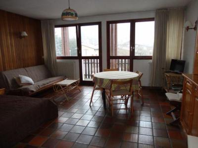 Location au ski Studio 5 personnes (02) - Residence Les Lothiers - Les Carroz - Séjour