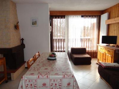 Location au ski Studio cabine 6 personnes (GB1) - Residence Les Mazots - Les Carroz - Séjour