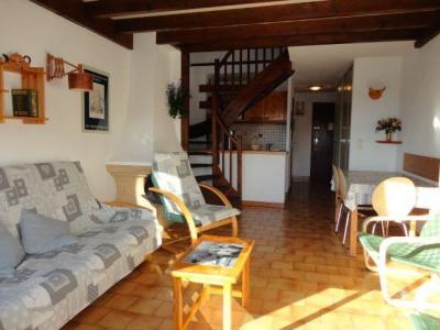 Location au ski Appartement duplex 2 pièces 6 personnes (31) - Residence Les Rhodos - Les Carroz - Canapé