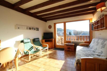 Location au ski Appartement duplex 2 pièces 6 personnes (31) - Residence Les Rhodos - Les Carroz - Coin séjour