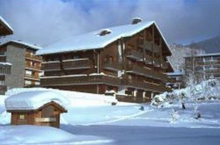 Location au ski Residence Les Rhodos - Les Carroz - Extérieur hiver