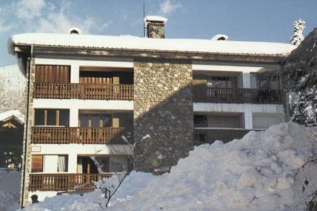 Location au ski Studio cabine 5 personnes (02) - Residence Marcelly - Les Carroz - Extérieur hiver
